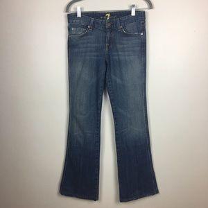 "3 for $30 7 For All Mankind ""A"" Pocket Flare Jeans"